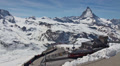 Gornergrat Station timelapse with Matterhorn Footage