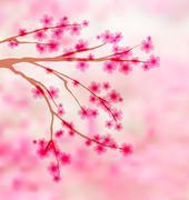 Stock Illustration of sakura