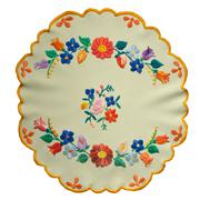 hungarian embroidery - stock photo