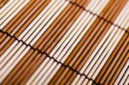 Stock Photo of bamboo mat. macro