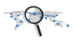 Network Surveillance - stock footage