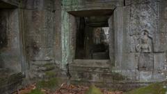 Preah Khan temple slider timelapse 4K Stock Footage
