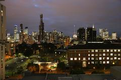 The southbank skyline - Melbourne Stock Photos