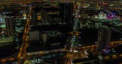 4K Las Vegas View Time Lapse Stock Footage