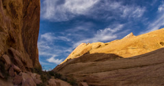 4K Shadows at Valley of Fire USA Stock Footage