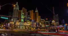 Dynamic 4K Las Vegas Time Lapse Stock Footage