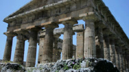 Stock Video Footage of Ancient Greek Temple - 25FPS PAL
