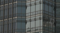 Jin Mao Building - stock footage