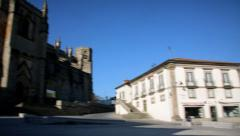 Medieval Cathedral Stock Footage