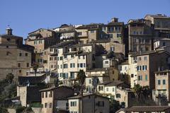 Citiscape of Siena - stock photo