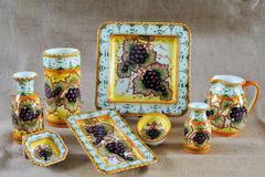 Tuscan Potteries - stock photo
