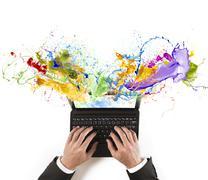 creative business - stock illustration