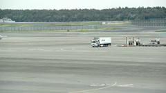 Traffic at Narita airport, Japan Stock Footage