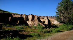 Montemor castle ruins Stock Footage