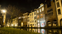 Full HD Utrecht Low Angle Stock Footage