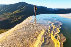 Stock Photo of hierve el agua