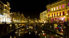 Full HD Utrecht Winkel van Sinkel Motion 1 Stock Footage
