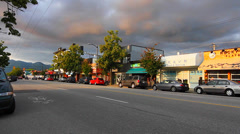 Wide shots -  main st Vancouver soma Stock Footage
