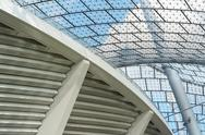 Stock Photo of modern stadium architecture
