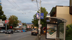West 4th -  kitsilano Stock Footage