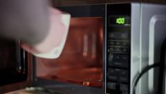 Using Microwave Stock Footage