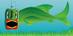 Big fish Stock Illustration