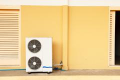 Air conditioner system Stock Photos