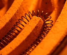 heating coil - stock photo