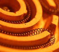 Heating coil Stock Photos