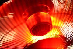 industrial fan - stock photo
