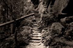 Grand Stairs - stock photo