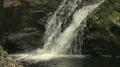 Mini Rock Waterfall Stock Footage