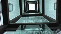 New england holocaust memorial Stock Footage