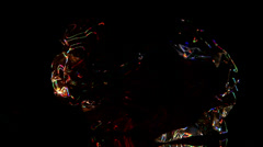 Space plasma lightning colors Stock Footage