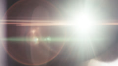 Anamorphic Lens Flare 2.5K - Warm, Direct Stock Footage