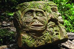 Ancient Pre Columbian Statue Stock Photos