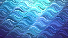 Water background. Abstract animation with glittering wavy pattern. Stock Footage