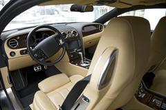 Luxury Car Interior Stock Photos