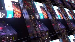 piccadilly circus, tile fx 2 - stock footage