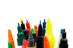 Felt Tip Pens Stock Photos