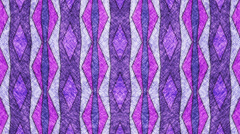 Abstract animation made of geometric drawn look pattern. Stock Footage