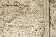 Stock Photo of Old adobe wall