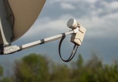 Satellite tv tuner Stock Photos
