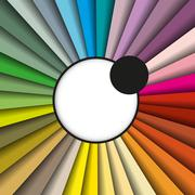 Stock Illustration of color palette