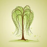 birch - stock illustration
