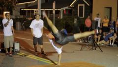Break Dancing In Virginia Beach, Virginia - Clip 6 Stock Footage