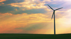 wind power - stock footage