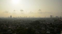 Bangkok Skyline 10 seconds - stock footage