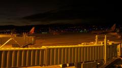 Albuquerque airport timelapse Stock Footage