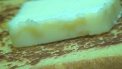 French Toast, Breakfast Foods, Eating Stock Footage